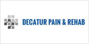 Decatur pain and rehab logo