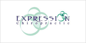 Expression chiropractic clinic logo