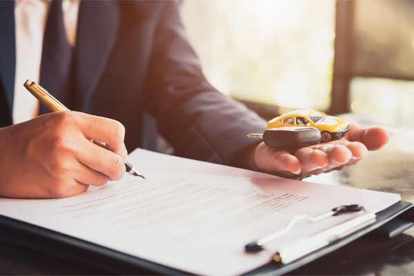An attorney reviewing a cr accident claims
